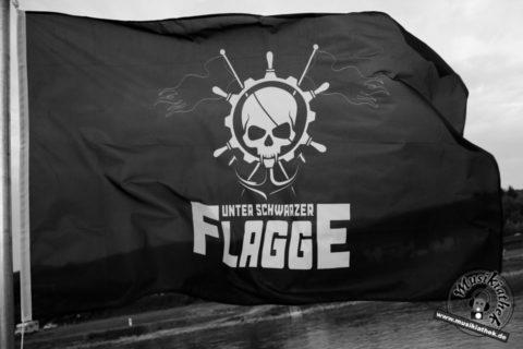 """Live/Fotos: So war's """"Unter schwarzer Flagge"""" – auf der MS RheinEnergie u.a. mit Eisbrecher – 12.05.2018"""