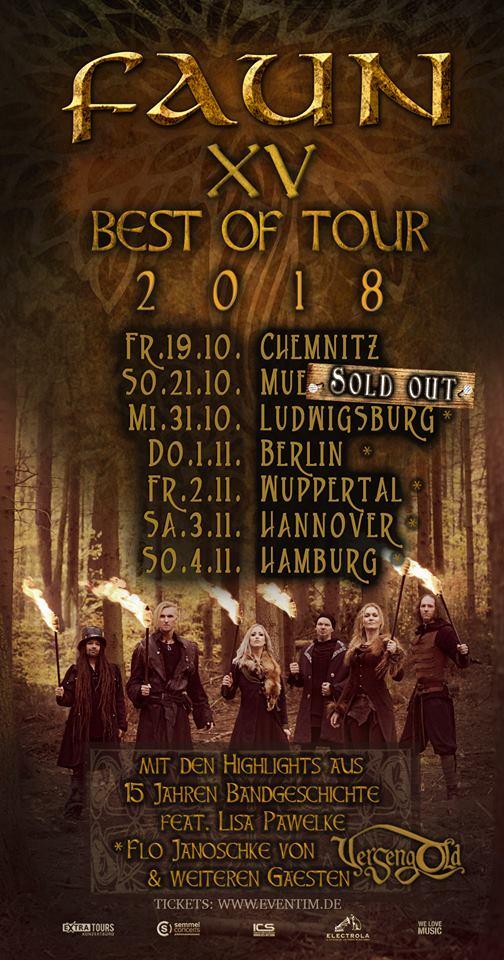 faun - Faun ab Oktober auf BEST OF TOUR 2018