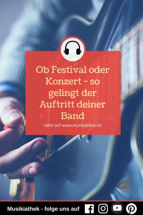 Konzertvorbereitung: ob Festival oder Konzert – so gelingt der Auftritt deiner Band