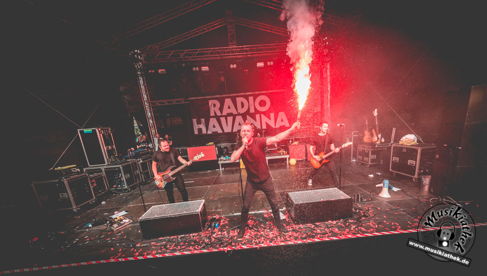 Gern gesehene Gäste bei Bochum Total: Radio Havanna im Interview