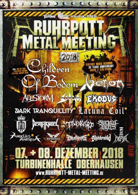Ruhrpott Metal Meeting 2018 – das Lineup ist komplett
