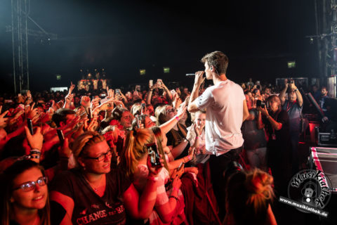 Fotos: Wincent Weiss (Support: Lea) Tollwood Festival München – 11.07.2018