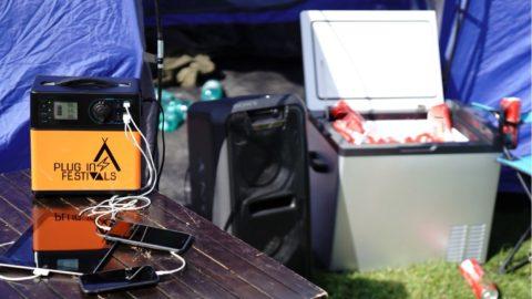Plug-in Festivals – dein Stromversorger auf Festivals