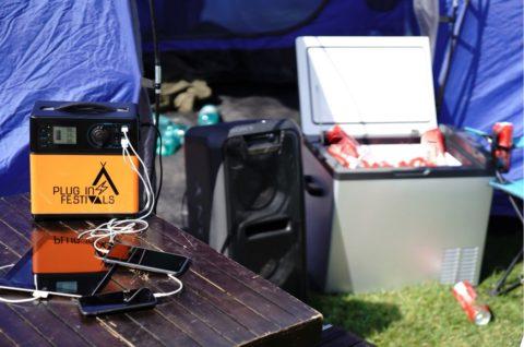 Never Ending Power mit Plug-in Festivals: was beim nächsten Festival nicht fehlen sollte