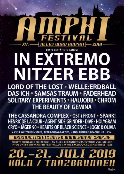 Erste Bands bestätigt für das Amphi Festival 2019, u.a. In Extremo