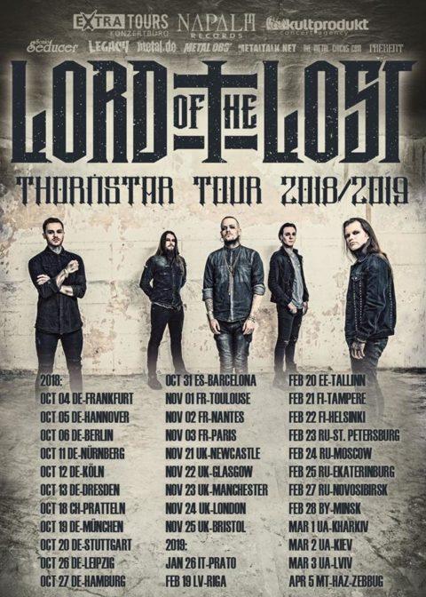 "Lord Of The Lost sind ab Oktober auf ""Thornstar"" Tour"