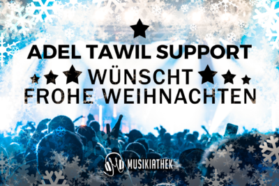 ADEL TAWIL SUPPORT-wuenscht-frohe-weihnachten
