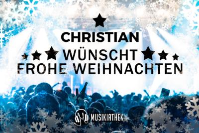 CHRISTIAN-wuenscht-frohe-weihnachten