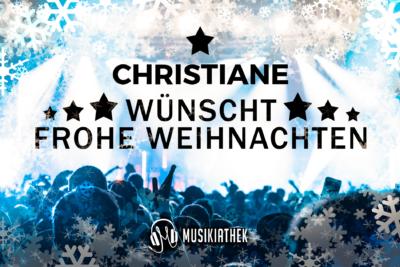 CHRISTIANE-wuenscht-frohe-weihnachten