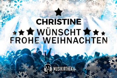 CHRISTINE-wuenscht-frohe-weihnachten