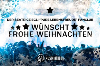 """DER BEATRICE EGLI """"PURE LEBENSFREUDE"""" FANCLUB-wuenscht-frohe-weihnachten"""