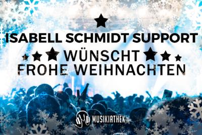 ISABELL SCHMIDT SUPPORT-wuenscht-frohe-weihnachten