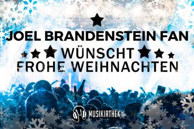 JOEL BRANDENSTEIN FAN-wuenscht-frohe-weihnachten