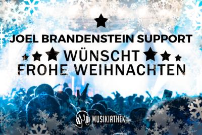 JOEL BRANDENSTEIN SUPPORT-wuenscht-frohe-weihnachten