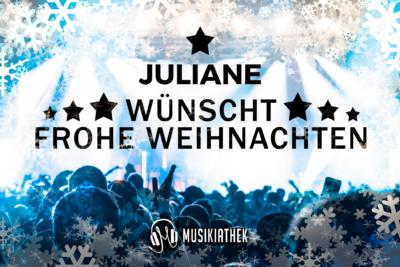 JULIANE-wuenscht-frohe-weihnachten