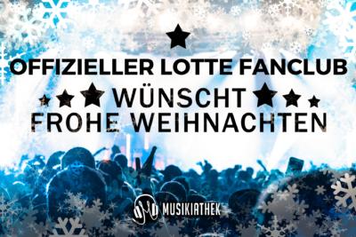 OFFIZIELLER LOTTE FANCLUB-wuenscht-frohe-weihnachten