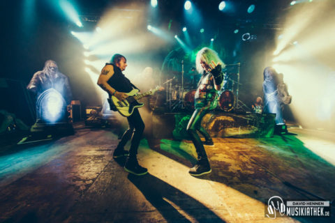 Live / Fotos: Grave Digger (Support: Burning Witches) – Zeche Bochum – 17.01.2019