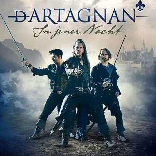 """dArtagnan In jener Nacht Albumcover web - dArtagnan: """"Einer für alle für einen"""" – Single und Video out now!"""