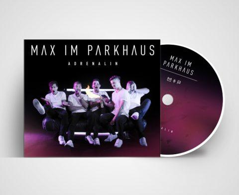 """Max im Parkhaus mit ihrer neuen Single """"Adrenalin"""""""