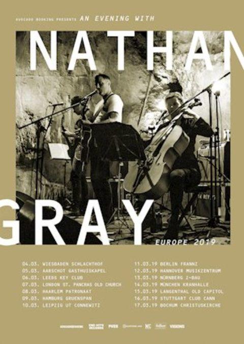 NATHAN GRAY mit neuer Musik und Tourdates