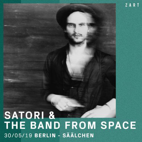 Gewinnt Tickets! Satori & The Band From Space kommen Ende Mai ins Säälchen Berlin - Verlosung