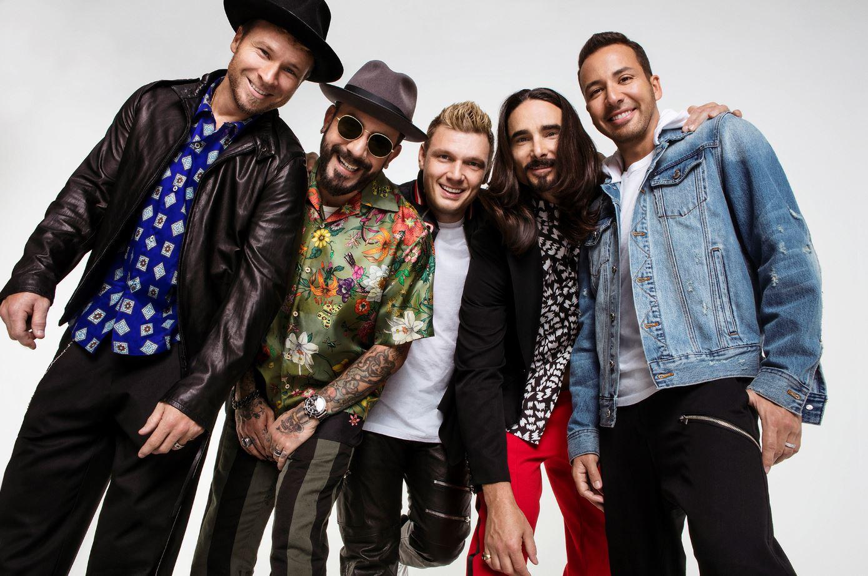 Die Backstreet Boys kehren nach rund 20 Jahren zurück an die Spitze der Billboard Charts