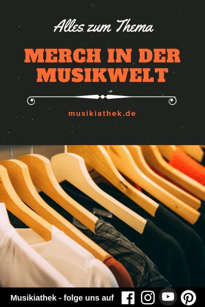 Merchandise für Bands