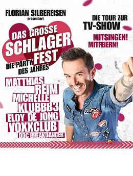Das große Schlagerfest - Die Party des Jahres 2019 kommt nach Köln und Oberhausen