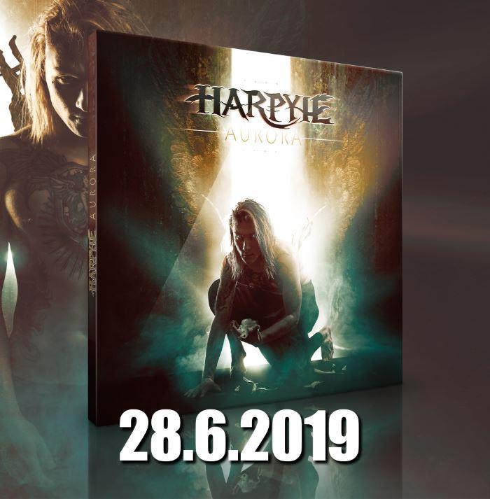 """Harpyie kündigen ihr neues Album """"Aurora"""" für den 28.06.2019 an"""