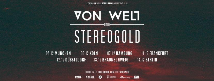 Die Musikiathek präsentiert: Von Welt & Stereogold kommen zusammen auf Headliner Tour