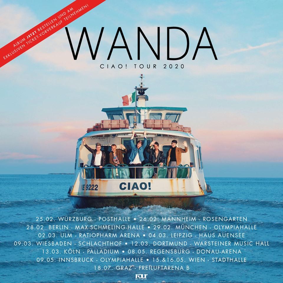 CIAO! – WANDA kündigen neues Album und Tour an
