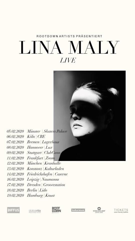 """""""Ich lass los"""", beschließt Lina Maly: Seht einen Live-Mitschnitt mit dem neuen Song"""