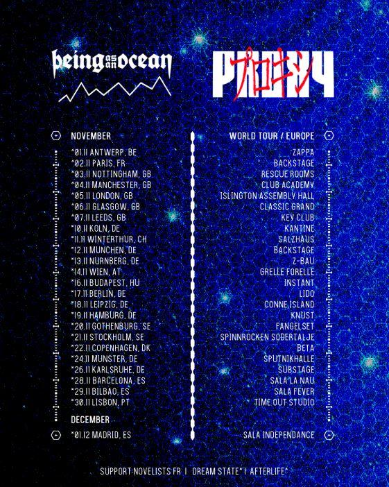 Being As An Ocean melden sich im Herbst mit neuem Album + Tour zurück