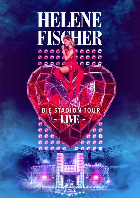 Helene Fischer veröffentlicht am 23. August die Live-DVD zur Stadion-Tour 2018
