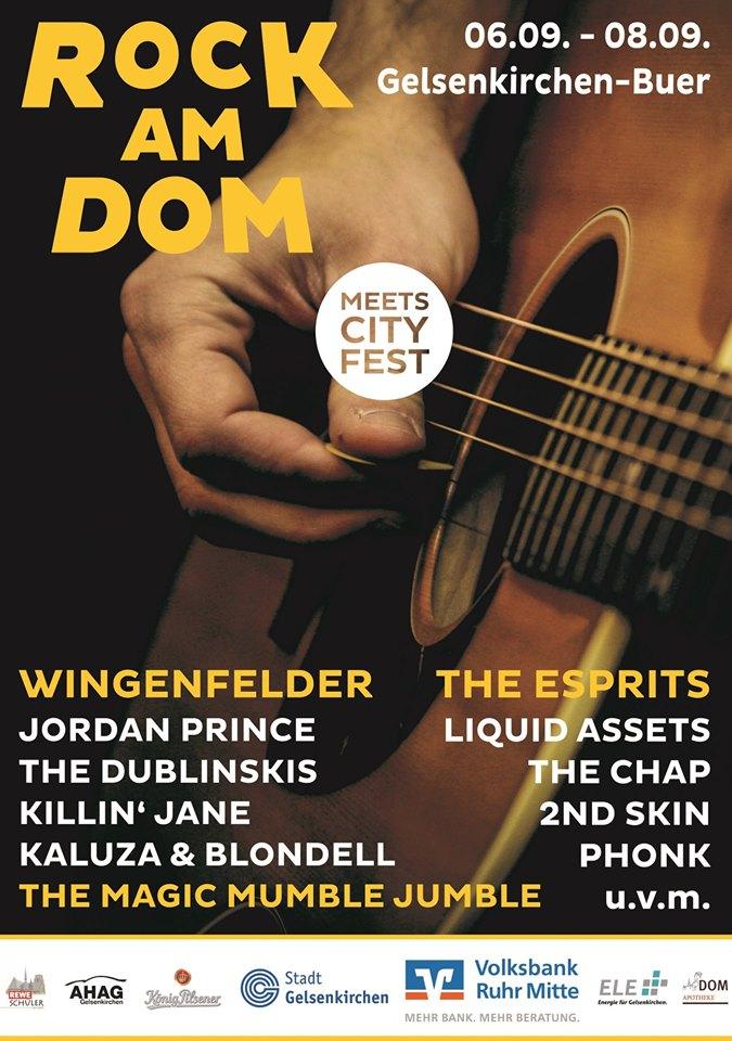 Rock am Dom 2019 in Gelsenkirchen - mit Wingenfelder, Ohrenpost uvm!