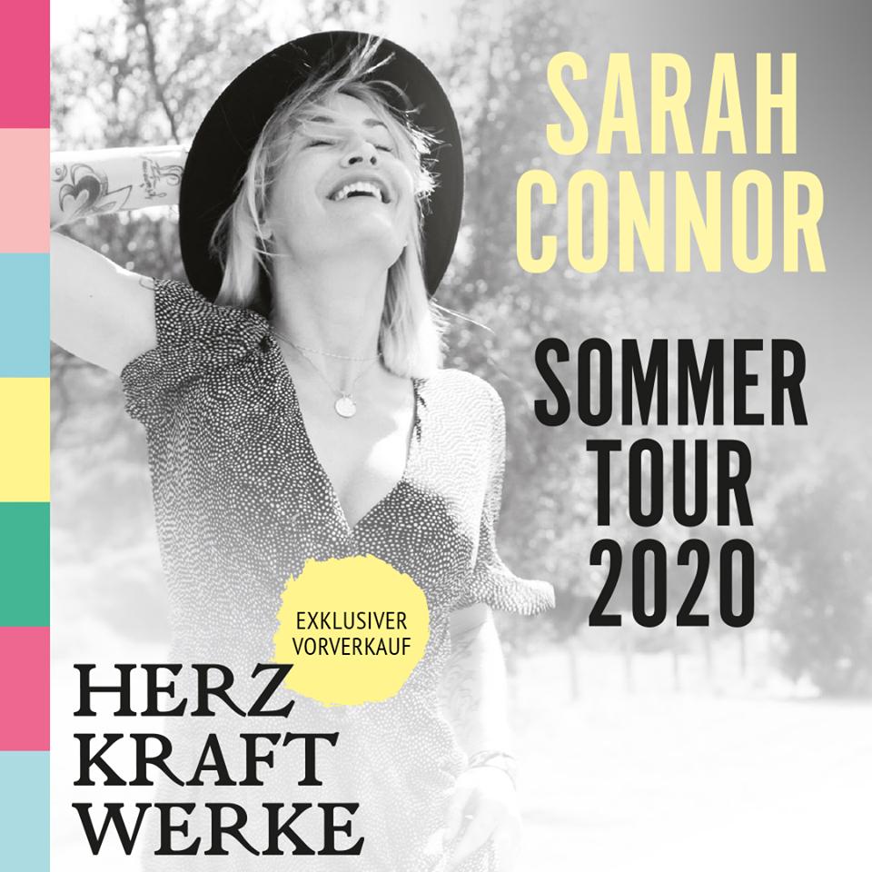 Sarah Connor 2020 auf großer Tour! Tickets, Termine und alle Infos