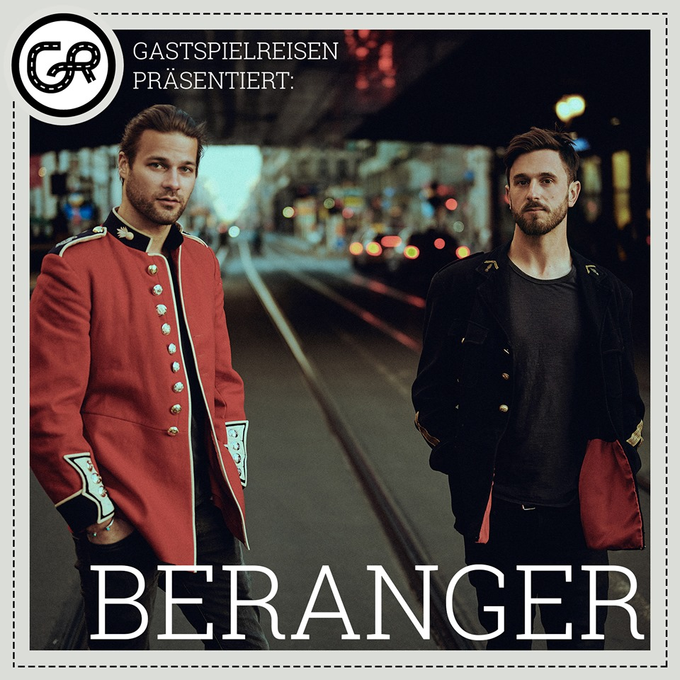 Die Musikiathek präsentiert: Beranger kommen im Dezember für eine exklusive Show nach Deutschland!