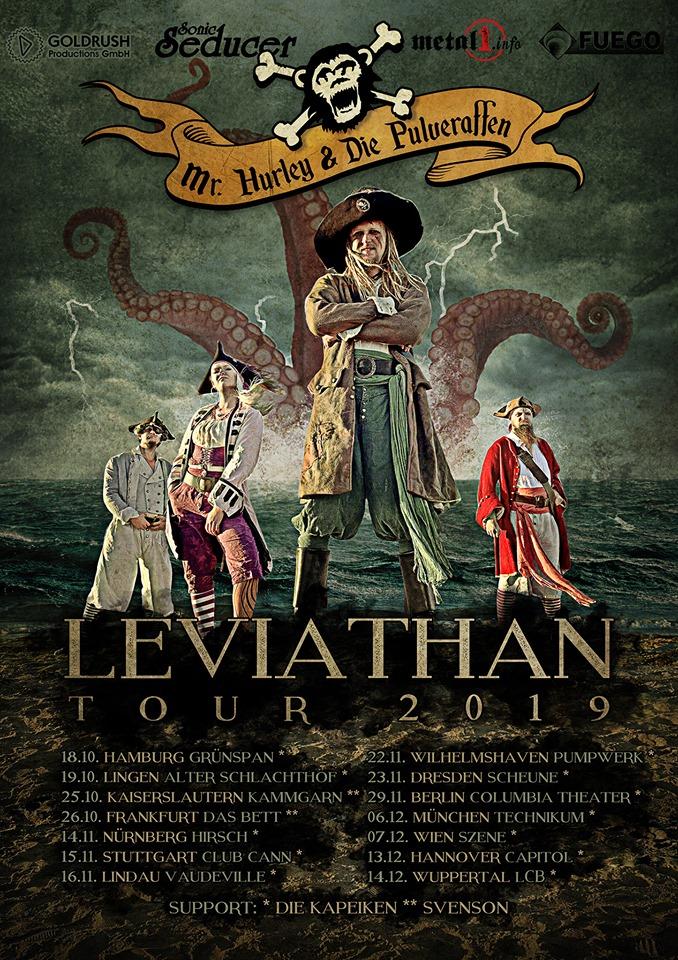 """Mr. Hurley & die Pulveraffen mit ihrem fünften Studioalbum """"LEVIATHAN"""""""