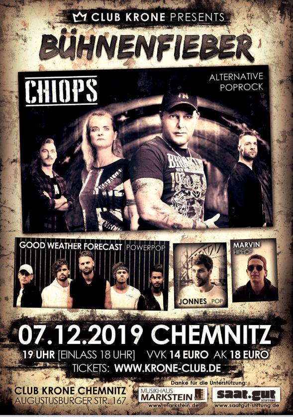 CHIOPS überzeugen mit Alternative Poprock und elektronischen Sounds