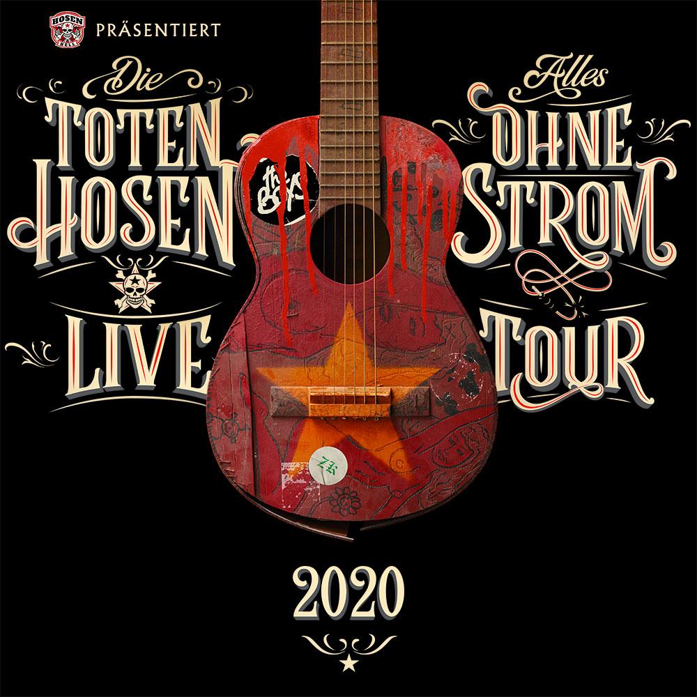 """Die Toten Hosen kommen 2020 auf """"Alles ohne Strom"""" Tour!"""