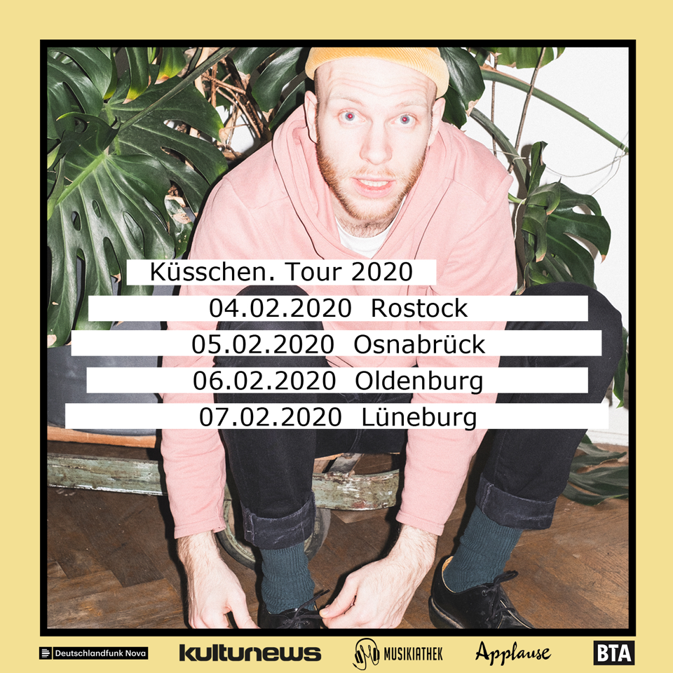 """Die Musikiathek präsentiert: Haller auf """"Küsschen. Tour 2020"""""""