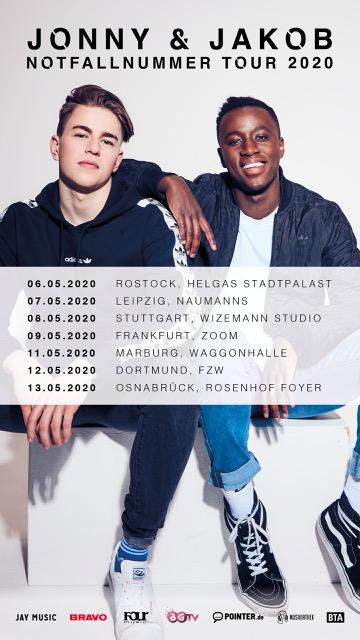 Jonny & Jakob: Vom LEA Support zur eigenen Tour 2020