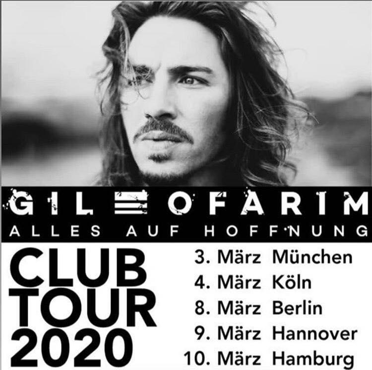 Das neue Album 'Alles auf Hoffnung' von Gil Ofarim erscheint am 28. Februar