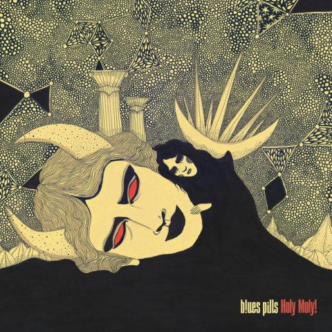 BLUES PILLS – enthüllen Cover Artwork ihres neuen Albums »Holy Moly!«
