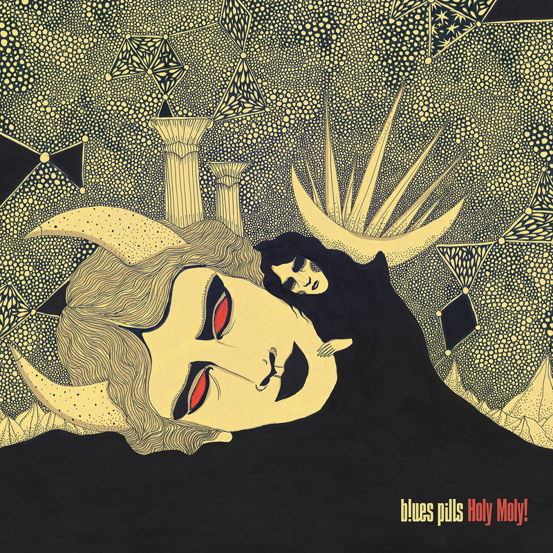 BLUES PILLS - enthüllen Cover Artwork ihres neuen Albums »Holy Moly!«