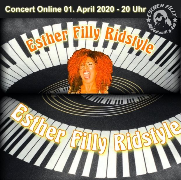 esther filly ridstyle - Esther Filly Ridstyle - Onlineconcert - 01.04.2020