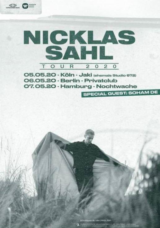 Verlosung: Nicklas Sahl kommt im Mai 2020 nach Deutschland
