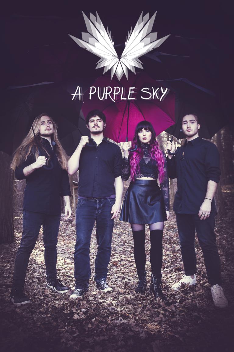 A Purple Sky – Eine außergewöhnliche Alternative-Rock-Band mit großen Zielen