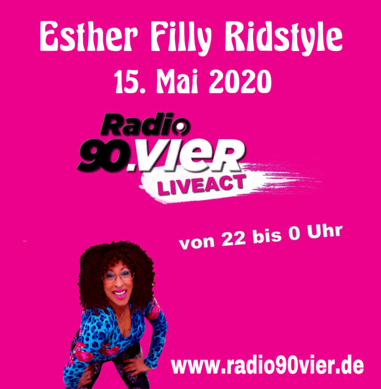 Radio 90vier präsentiert LIVE Act Esther Filly Ridstyle