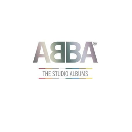 """abba - """"The Studio Albums""""- Farbige Vinyls aller ABBA-Alben in einer Sammlung"""